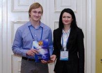 Награждение победителей - Грачев П.В. (ИОФ РАН)