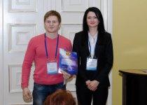 Награждение победителей - Шапошников А.В. (ИБГ РАН)