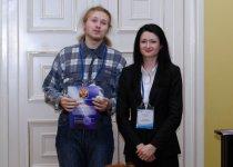 Награждение победителей - Макаров Г.И. (Химфак МГУ)